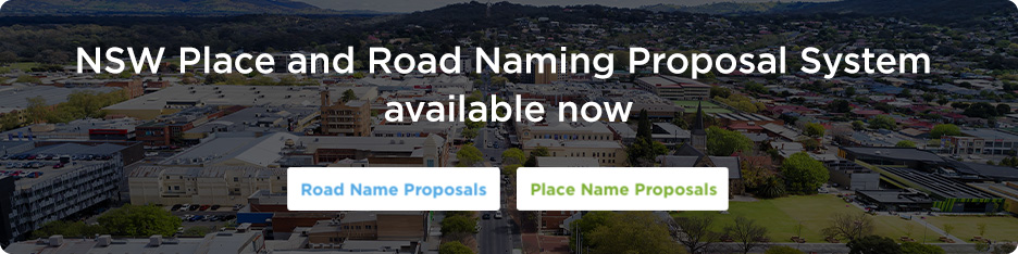 New Road and Place Name Proposal System Coming Soon