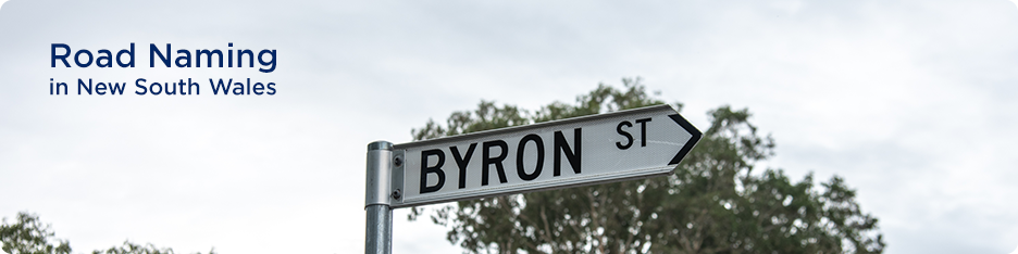Road Naming in New South Wales